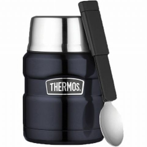 Thermos Blue King Food Flask 0.47L
